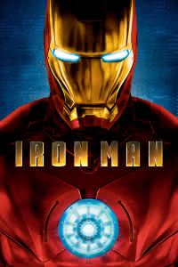 "Poster for the movie ""Iron Man"""
