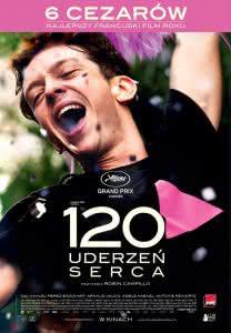 "Poster z filmu ""120 uderzeń serca"""