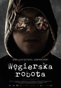 """Poster z filmu """"Węgierska robota"""""""
