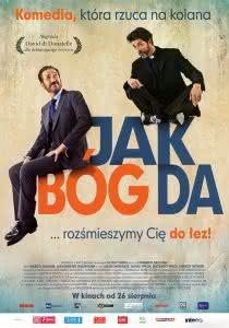 "Plakat filmu ""Jak Bóg da"""