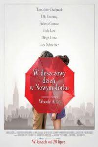 """Poster z filmu """"W deszczowy dzień w Nowym Jorku"""""""