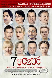 """Poster z filmu """"7 uczuć"""""""