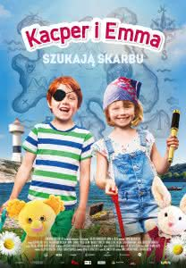 "Poster z filmu ""Kacper i Emma szukają skarbu"""