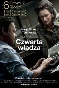 """Poster z filmu """"Czwarta władza"""""""