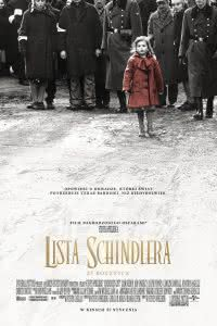 "Poster z filmu ""Lista Schindlera"""