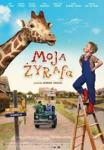 "Poster z filmu ""Moja Żyrafa"""