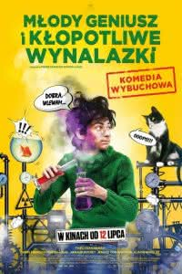 """Poster z filmu """"Młody geniusz i kłopotliwe wynalazki"""""""