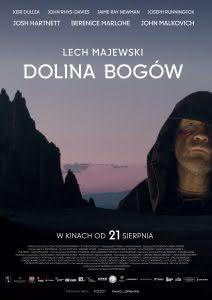 "Plakat filmu ""Dolina Bogów"""