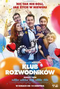 "Plakat filmu ""Klub rozwodników"""