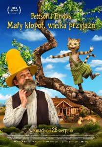 """Plakat filmu """"Pettson i Findus - mały kłopot, wielka przyjaźń"""""""