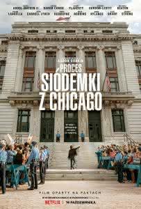 """Plakat filmu """"Proces Siódemki z Chicago"""""""