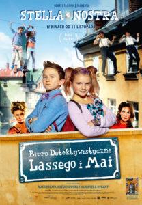 "Plakat filmu ""Biuro Detektywistyczne Lassego i Mai. Stella Nostra"""