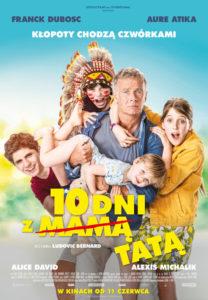 """Plakat filmu """"10 dni z tatą"""""""