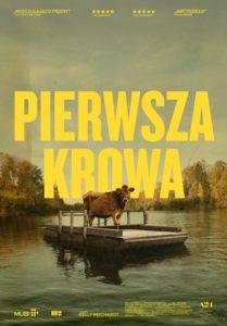 """Plakat filmu """"Pierwsza krowa"""""""