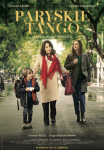 "Plakat filmu ""Paryskie tango"""