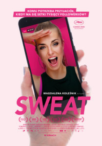 """Plakat filmu """"Sweat"""""""