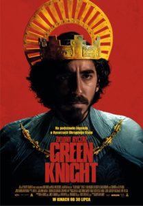 """Plakat filmu """"Zielony Rycerz. Green Knight"""""""