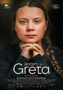 """Plakat filmu """"Jestem Greta"""""""