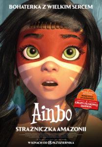 """Plakat filmu """"Ainbo – strażniczka Amazonii"""""""