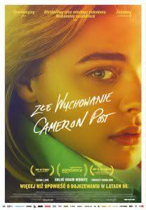 """Poster z filmu """"Złe wychowanie Cameron Post"""""""