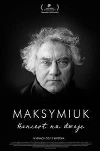 "Poster z filmu ""Maksymiuk. Koncert na dwoje"""