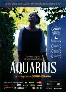 """Plakat filmu """"Aquarius"""""""