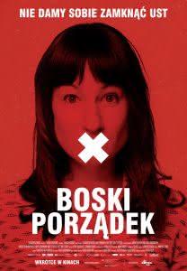 """Plakat filmu """"Boski porządek"""""""