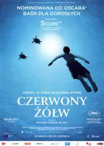 """Plakat filmu """"Czerwony żółw"""""""