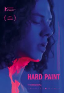 "Plakat filmu ""Hard Paint"""
