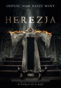 "Plakat filmu ""Herezja"""
