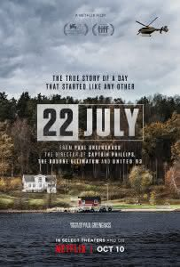 "Plakat filmu ""22 lipca"""