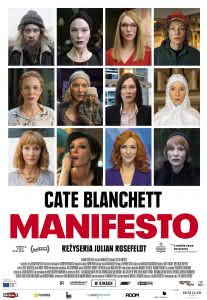 "Plakat filmu ""Manifesto"""