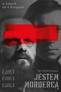 """Poster z filmu """"Jestem Mordercą"""""""