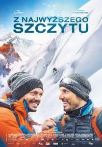 """Poster z filmu """"Z najwyższego szczytu"""""""
