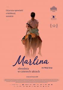 """Poster z filmu """"Marlina Zbrodnia w czterech aktach"""""""