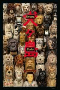 """Poster z filmu """"Wyspa psów"""""""