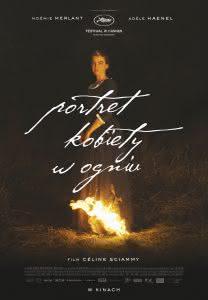"""Plakat filmu """"Portret kobiety w ogniu"""""""