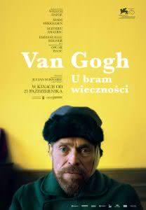 """Plakat filmu """"Van Gogh. U bram wieczności"""""""
