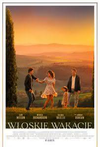 """Plakat filmu """"Włoskie wakacje"""""""