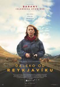 "Plakat filmu ""Daleko od Reykjaviku"""