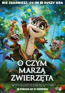 """Plakat filmu """"O czym marzą zwierzęta"""""""