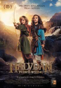 Plakat filmu Halvdan – prawie wiking
