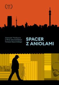 "Plakat filmu ""Spacer z Aniołami"""