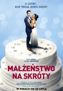 """Plakat filmu """"Małżeństwo na skróty"""""""
