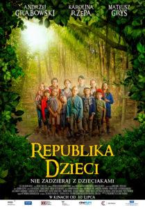 """Plakat filmu """"Republika dzieci"""""""