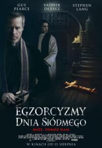 """Plakat filmu """"Egzorcyzmy dnia siódmego"""""""