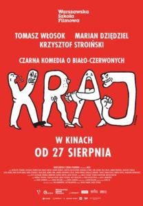 """Plakat filmu """"Kraj"""""""