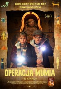 """Plakat filmu """"Operacja Mumia"""""""