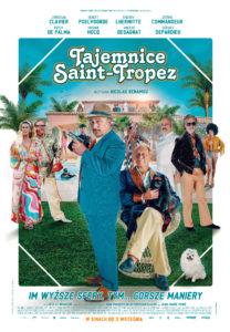 "Plakat filmu ""Tajemnice Saint-Tropez"""