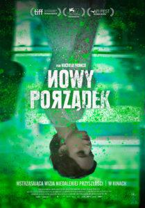 """Plakat filmu """"Nowy porządek"""""""